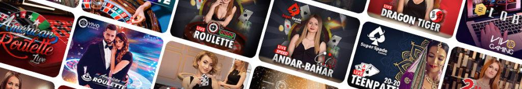 Live casino games | Casino dealers | Arab Casino