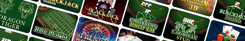 Table Games | Arab VIP Casino | Gallo Casino